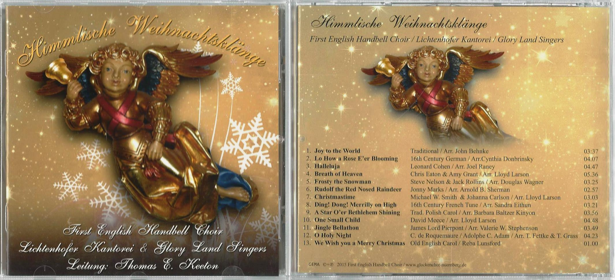 CD\'s und Hörprobe – First English Handbell-Choir